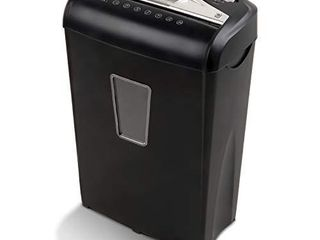 Aurora AU870MA High Security 8 Sheet Micro Cut Paper Credit Card Shredder Black