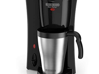 BlACK DECKER Coffeemaker  1  Black Stainless Steel