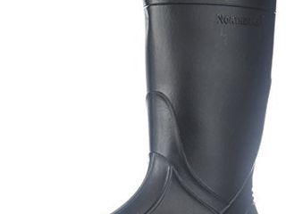Ranger Splash Series Youths  Rain Boots  Black  76002  size   5