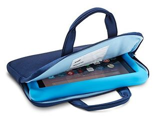 NuPro Zipper Sleeve for Fire 7 Kids Edition Tablets  Navy Blue