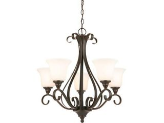 Hampton Bay 5 light Oil Rubbed Bronze Chandelier