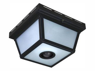 Heathco Sl 4305 BK C Ceiling light  Motion Activated  Black  Square  100 Watt   Quantity 1