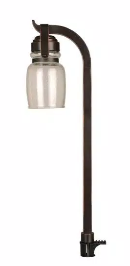 4 5 watt Oil Rubbed Bronze Outdoor Integrated led landscape