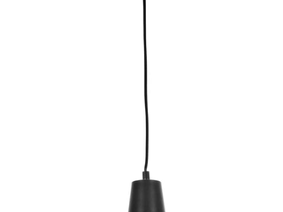 Globe Electric Barnyard 1 light Matte Back Plug In Pendant  65151