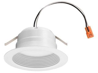 lithonia lighting 4Be led 90Cri M6 E Series Recessed 4  led Ic Rated Baffle Trim
