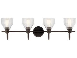 Kichler 45974 Avery 4 light 33  Wide Bathroom Vanity light