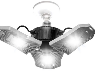 Bell   Howell TriBurst Deluxe 10 5 in  144 High Intensity lED 5500 lumens Flush Mount Ceiling light