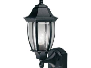 Alexandria 180 Degree Outdoor 18 5h x 7w x 8 5d Black