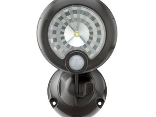 Mr Beams Outdoor 250 lumen Battery Powered Motion Activated Integrated lED Security light  Brown