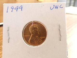 1944 lINCOlN CENT   UNC