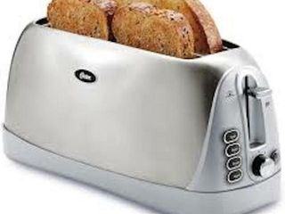OSTER BRUSHED STAINlESS STEEl 4 SlICE lONG SlOT