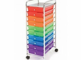 SEVIllE ClASSICS ORGANIZER CART 10 DRAWERS