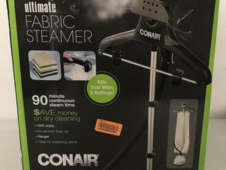 CONAIR UlTIMATE FABRIC STEAMER 1500 WATTS
