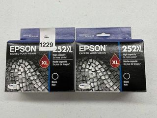 2 PACK  EPSON 252Xl INK