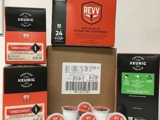 96 PODS KEURIG REVV STRONG COFFEE BEST