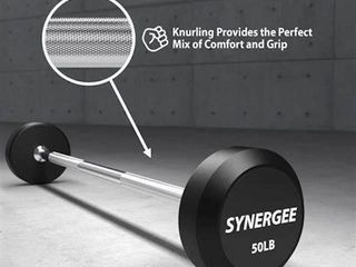 SYNERGEE FIXED BARBEll 50 lB