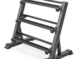 MARCY 3 TIER DMBBEll RACK MUlTIlEVEl