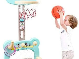 BASKETBAll HOOP SET FOR KIDS  5 IN 1 SPORTS