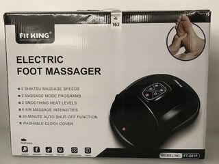 FIT KING ElECTRIC FOOT MASSAGER MODEl NO  FT 001F
