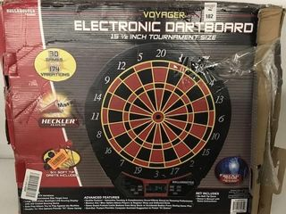 VOYAGER ElECTRONIC DARTBOARD SIZE 15 1 2 INCH
