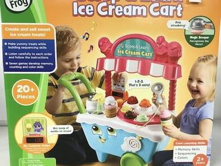 lEAP FROG SCOOP   lEARN ICE CREAM CART AGES 2