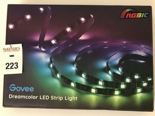 GOVEE RGBIC DREAMCOlOR lED STRIP lIGHT