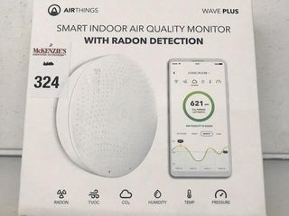 AIRTHINGS SMART INDOOR AIR MONITOR W  RADON