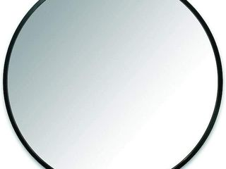 UMBRA 24IN ROUND MIRROR WITH RUBBER FRAME