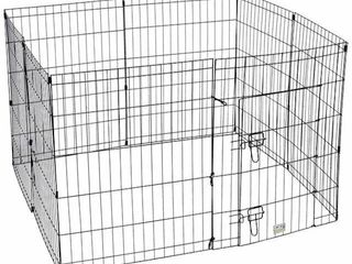 DElUXE DOG EXERCISE PEN APROX 24X3X24IN