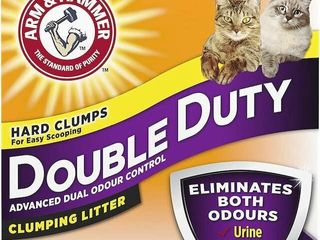 ARM HAMMER PROTECTION DOUBlE CAT lITTER 18KG