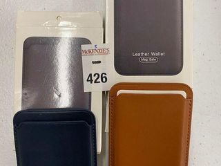 2 PCS lEATHER WAllET FOR IPHONE 12 PRO