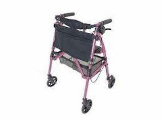 STANDER 4350 RR EZ FOlD AND GO ROllATOR