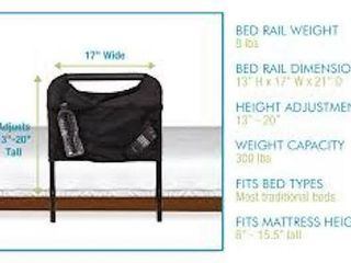 ABlE lIFE BED SIDE SAFETY HANDlE AND POUCH
