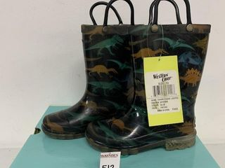 WESTERN CHIEF KIDS RAIN BOOTS  SIZE 10