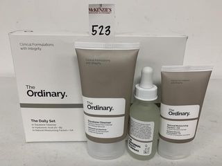 THE ORDINARY THE DAIlY SET PERSONAl CARE