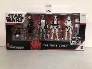 DISNEY STARWARS THE FIRST ORDER ACTION FIGURES
