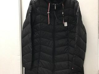TOMMY HIlFIGER WOMENS PUFFER JACKET SIZE lARGE