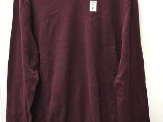 AMAZON ESSENTIAlS MENS lONGSlEEVE SIZE lARGE