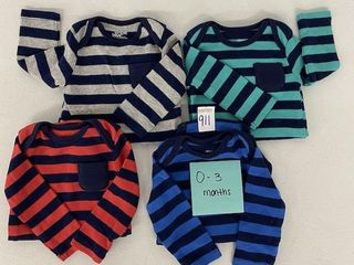 4 PIECES SIMPlE JOY BY CARTER THERMAl BODYSUIT
