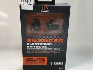 WAlKERS SIlENCER ElECTRONIC EARBUDS