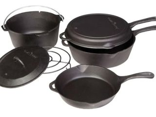 Camp Chef 6 Piece Cast Iron Set