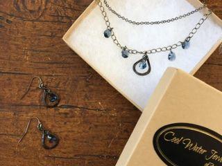 Black Tie   Blue Jean Jewelry Set