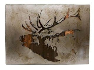 Bohl Iron Works Bugling Elk Wall Art