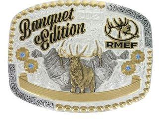 2021 RMEF Banquet Edition Buckle