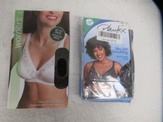 lot of  2  38C Bras Inc  Playtex Women s 18 Hour