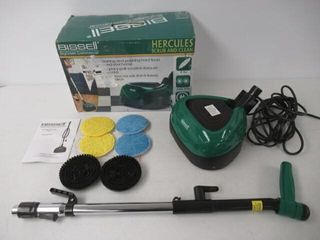 Used  Bissell BigGreen BGFS650 Hercules Scrub and