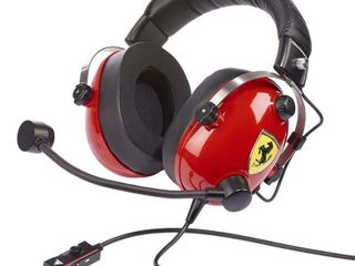 Y Racing Ferrari Edition Gaming Headset  Red   PC