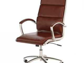 Bush Business Furniture Modelo High Back leather