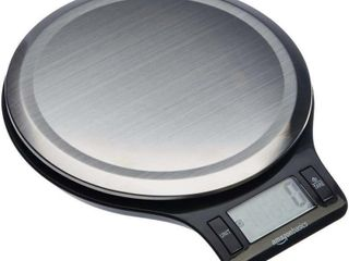 Basics Stainless Steel Digital Kitchen Scale with