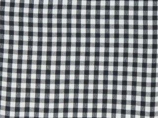 2  Small Basket liner  Black White Checkered